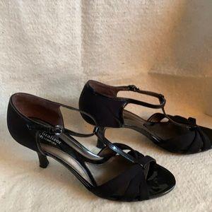 Naturalizer strappy black heels